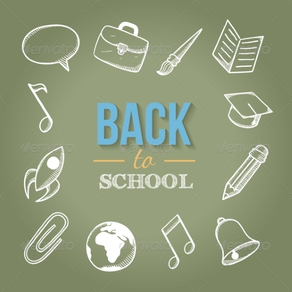 GraphicRiver Welcome Back to School 8654631