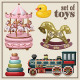 Set of Vintage Toys - GraphicRiver Item for Sale