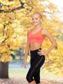 beautiful athletic woman in sportswear - PhotoDune Item for Sale