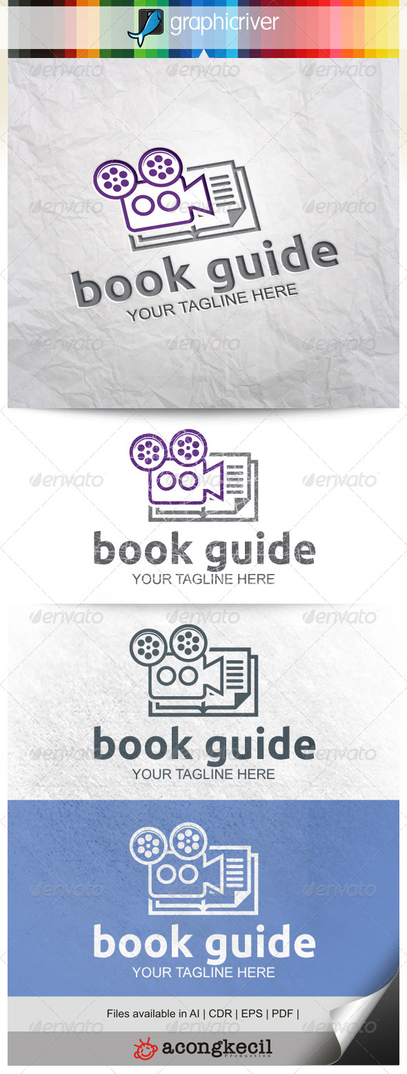 GraphicRiver Bookguide Video 8654804