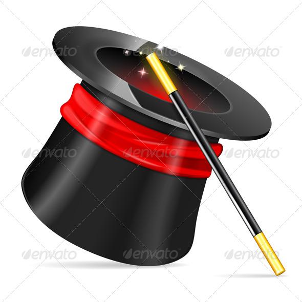 GraphicRiver Magician Hat 8654821