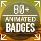 80+ Badges : Corporate/Festival/Neon/Organic  - VideoHive Item for Sale