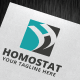 Homostat Logo Template - GraphicRiver Item for Sale