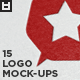 15 Realistic Logo Mock-Ups Vol.1 - GraphicRiver Item for Sale