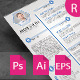 The Resume & Letter Cover & Portfolio - GraphicRiver Item for Sale