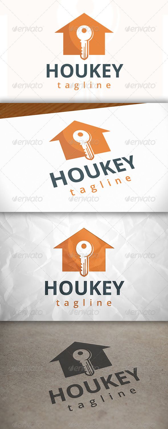 GraphicRiver House Key Logo 8655335
