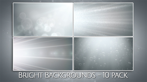 Bright Backgrounds 10 Loops