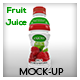 Fruit Juice Bottle Mock-Up - GraphicRiver Item for Sale