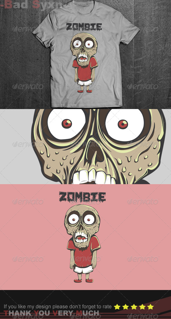 GraphicRiver Little Zombie 8656424