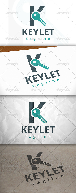 GraphicRiver Key Letter K Logo 8656434