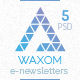 Waxom - Clean and Universal Email Template - GraphicRiver Item for Sale