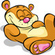 Happy Bear Lying on his Back and Resting  - GraphicRiver Item for Sale
