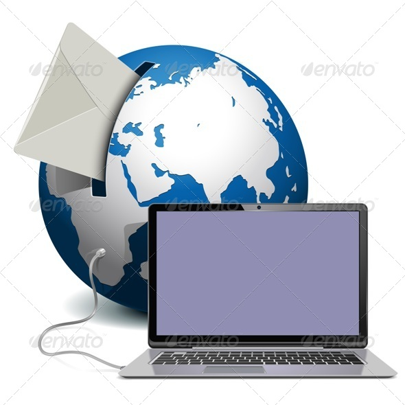 GraphicRiver Globe with Notebook 8657144