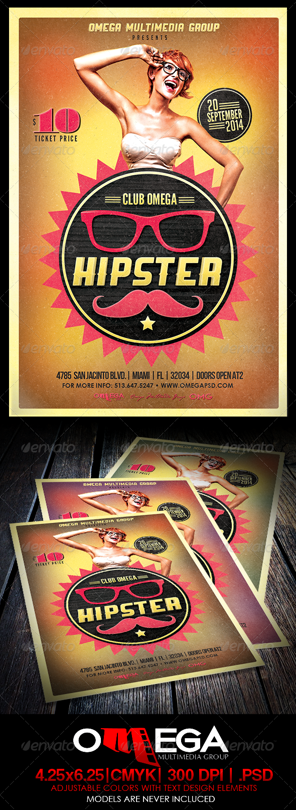 GraphicRiver Hipster Party 8643997