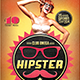Hipster Party - GraphicRiver Item for Sale