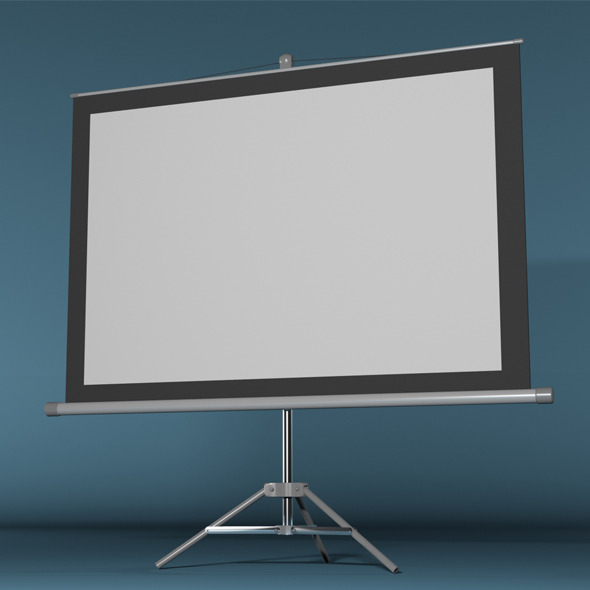 3DOcean Projector Screen 8657201