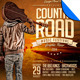 Country Road Music Festival Poster Flyer Template - GraphicRiver Item for Sale
