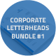 Corporate Letterheads Bundle #1 - GraphicRiver Item for Sale