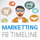 Marketting Business Timeline Cover - GraphicRiver Item for Sale