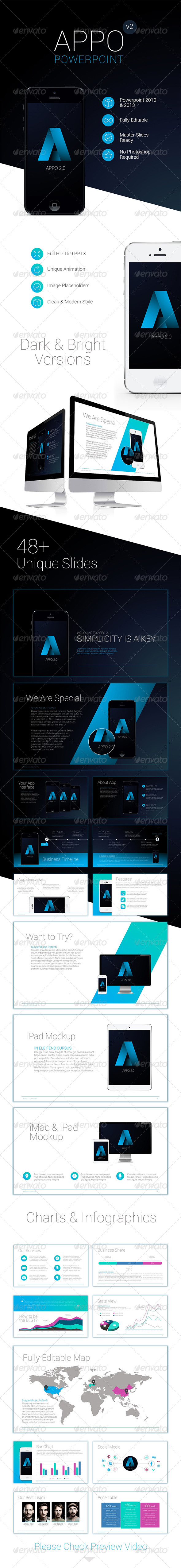 GraphicRiver Premium App Powerpoint Template 8643300