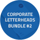 Corporate Letterheads Bundle #2