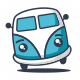 Smile Van Logo - GraphicRiver Item for Sale