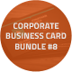 Creative Business Cards Bundle #8 - GraphicRiver Item for Sale
