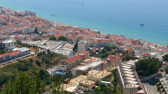 Panoramic View of Resort Town 830