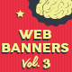 Web Banners Vol. 3 - GraphicRiver Item for Sale