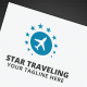 Star Traveling Logo - GraphicRiver Item for Sale