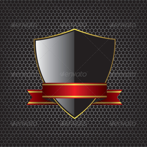 GraphicRiver Metal Textures and Shield Background 8658793