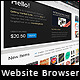 Photorealistic Webbrowser Mockup - GraphicRiver Item for Sale