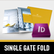 Modern Project Gate Fold Flyer