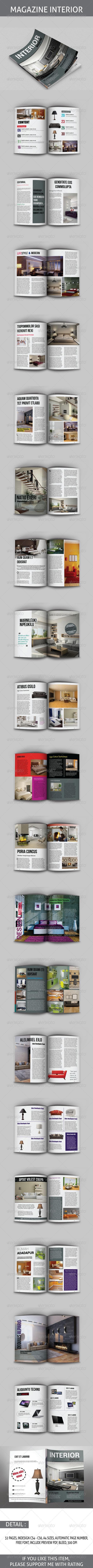 GraphicRiver Magazine Furniture Template 8658908