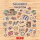 Summer Vacation Scrap Set - GraphicRiver Item for Sale