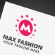 Max Fashion Logo - GraphicRiver Item for Sale