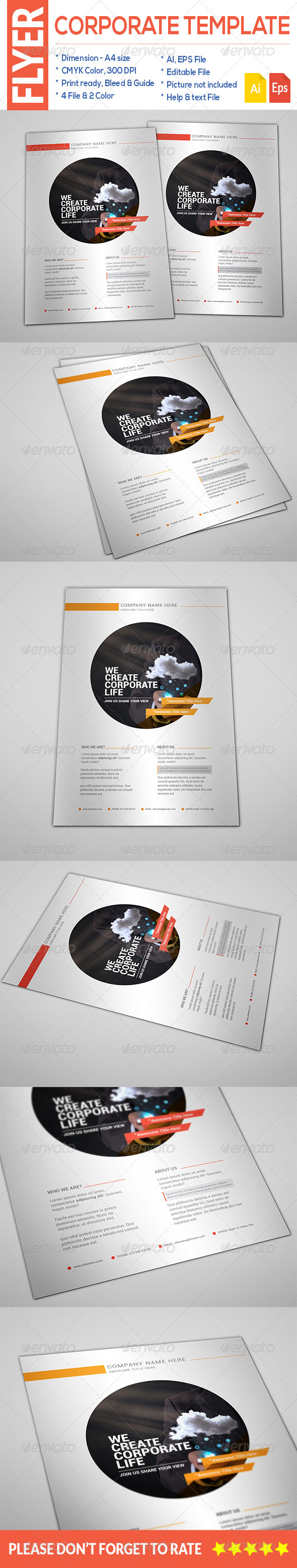GraphicRiver Corporate Flyer 8659119