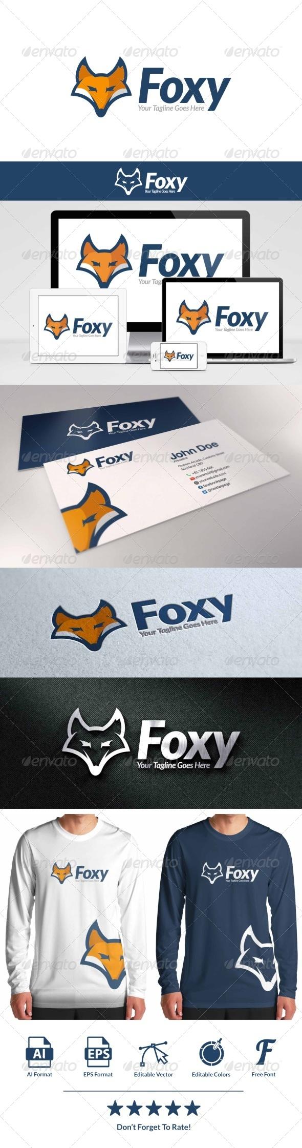 GraphicRiver Foxy Logo 8659138