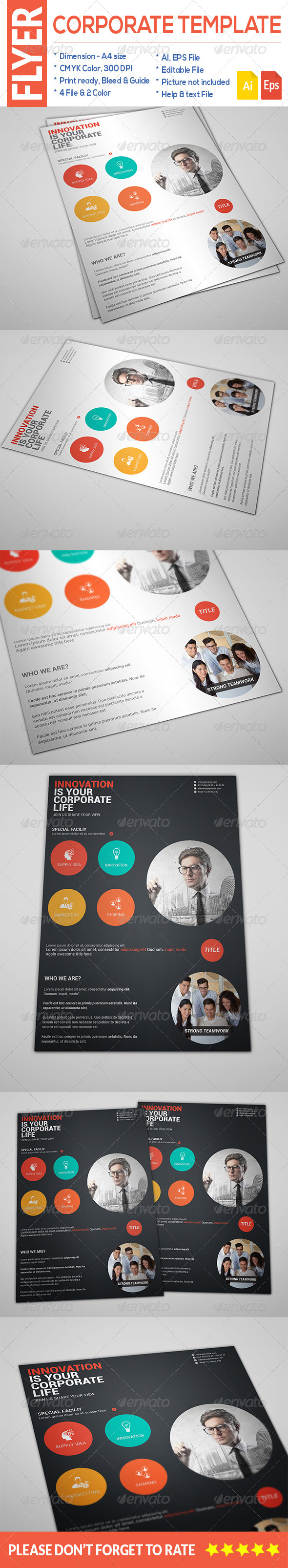 GraphicRiver Corporate Flyer 8659144