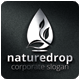 Nature Drop Logo Template - GraphicRiver Item for Sale
