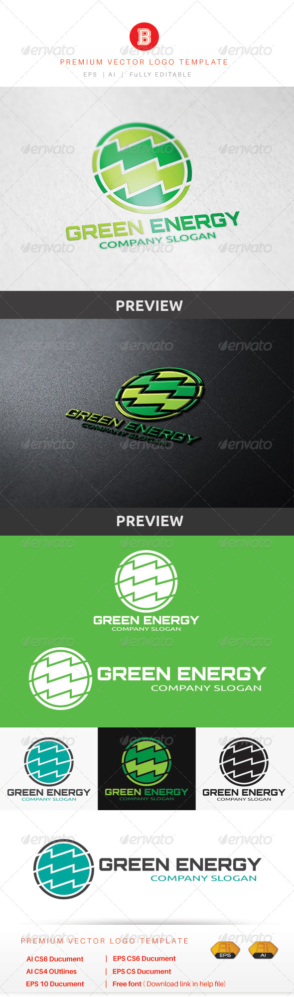 GraphicRiver Green Energy 8659165