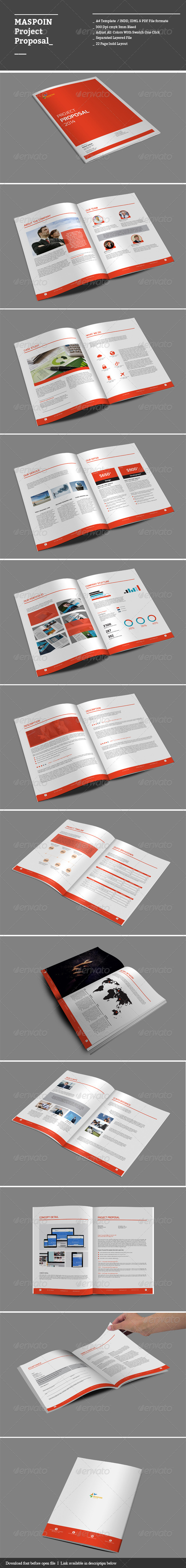 GraphicRiver Maspoin Project Proposal 8659176