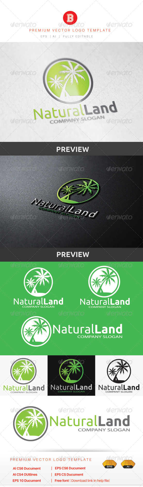 GraphicRiver Natural Land 8659177