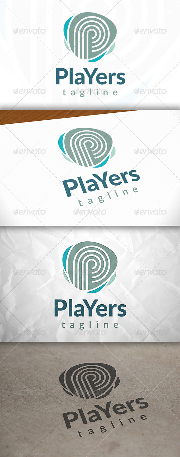 GraphicRiver Players Logo 8659183