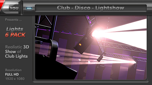 Club Disco Lightshow