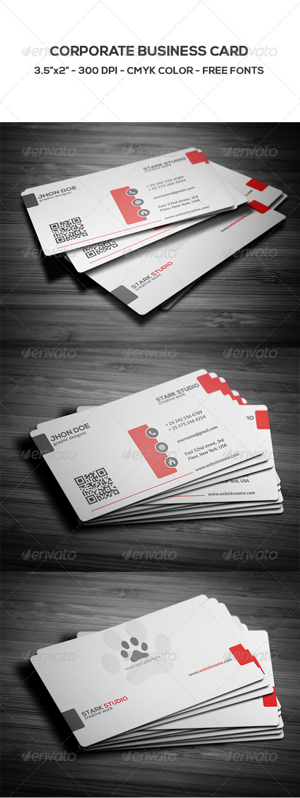 GraphicRiver Corporate Business Card 8659200