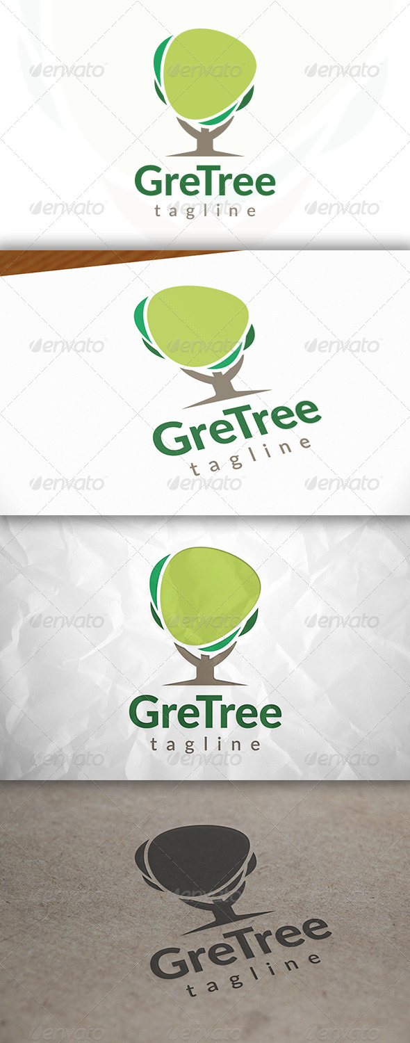 GraphicRiver Tree Media Logo 8659230