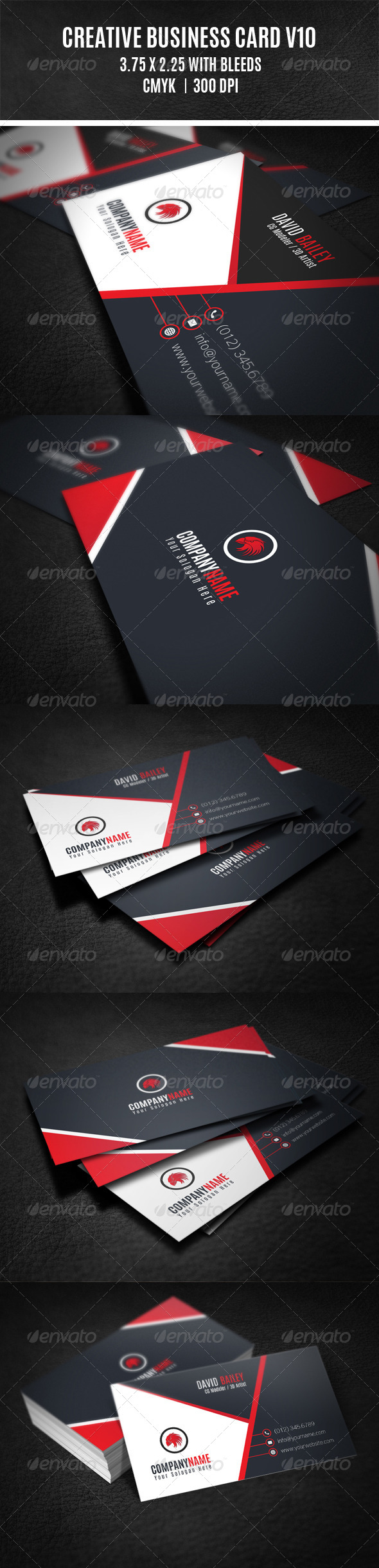 GraphicRiver Creative Business Card V10 8659234