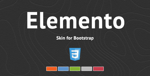 Elemento - Bootstrap Skin - CodeCanyon Item for Sale