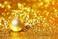 Golden Christmas ball - PhotoDune Item for Sale